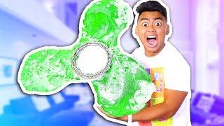 DIY Mega Giant Gummy Fidget Spinner! (MASSIVE)