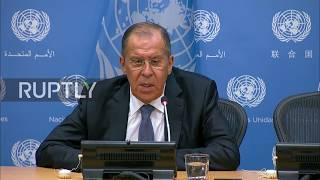 UN: S-300 delivery to Syria has begun - Lavrov