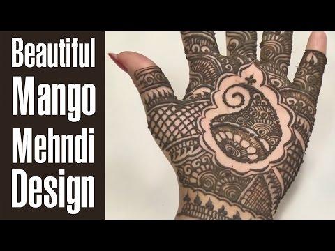 Beautiful Mehndi Designs For Hands - Mango Tree Inspired (tutorial) video