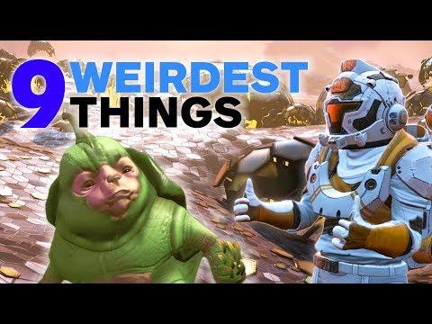 9 Weirdest Things We've Seen in No Man's Sky NEXT
