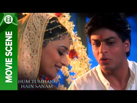 Madhuri At Her Wedding Night - Hum Tumhare Hain Sanam video