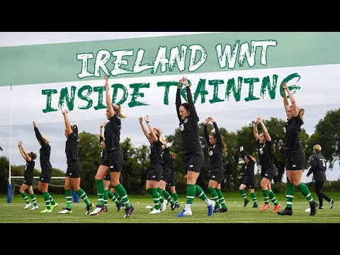 INSIDE TRAINING | Vera Pauw's first session with the #IRLWNT