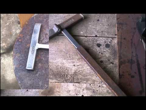 Как сделать молоток сварщика