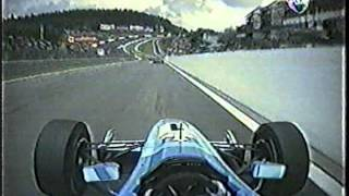 F3000 Accidente Webber en Eau Rouge año 2000