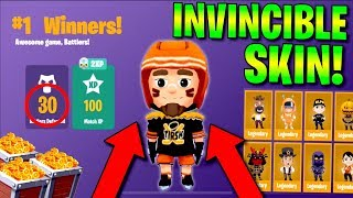 DOES THIS SKIN MAKE ME INVINCIBLE? BEST SKIN IN BATTLELANDS ROYALE! (Wilson Puck High Kill Gameplay)