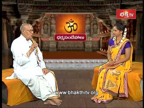 Describe About Sandhya Vandanam | Dharma Sandehalu - Episode 416 part 1 video