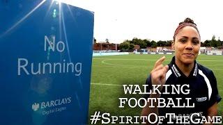 Arsenal's Alex Scott | Barclays Walking Football | #SpiritOfTheGame