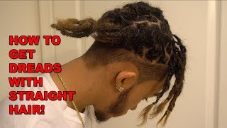 How To Get Dreadlocks With Straight Hair