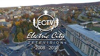 ECTV 2008 - 2018 Drone over Scranton The Electric City