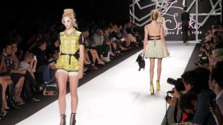 Z SPOKE BY ZAC POSEN S/S 2011 FASHION SHOW - VIDEO BY XXXX MAGAZINE