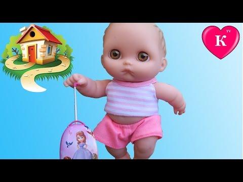 Кукла СБЕЖАЛА ИЗ ДОМА. ОБИДЕЛАСЬ. Мультик с куклой для девочек