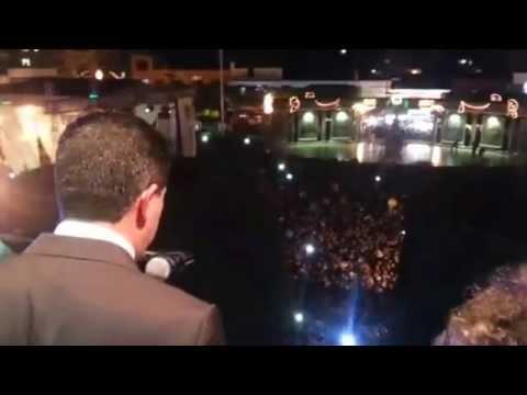 Grito de Independencia en Zitácuaro por el edil Juan Carlos Campos