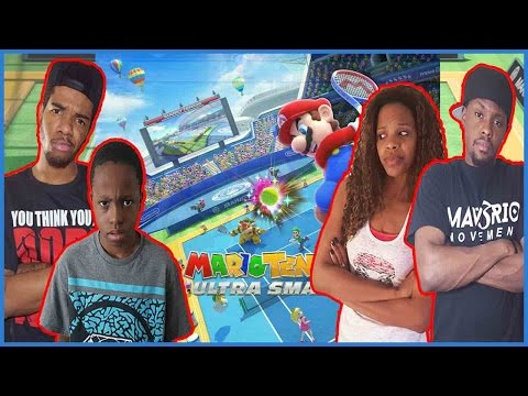 CAN THEY DETHRONE THE CHAMPS!?? - Mario Tennis Ultra Smash Wii U