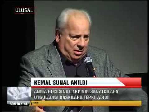 KEMAL SUNAL ANILDI