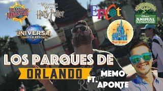 Los Parques de Orlando! (Disney World - Universal Studios) feat. Memo Aponte