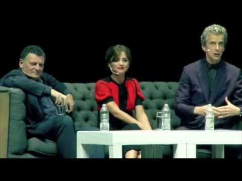 Mexico City Q&A Highlights w/ Peter Capaldi, Jenna Coleman & Steven Moffat - Doctor Who World Tour
