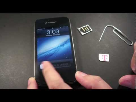 How To Unlock The iPhone 4S