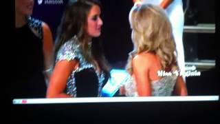 Courtney Garrett Miss Virginia 2014 Crowning Moment