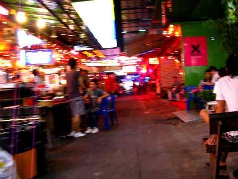 bangkok thailand - boys only street