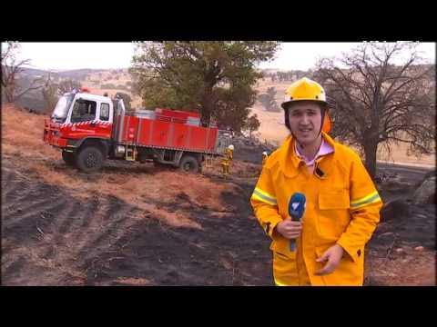SBS World News Australia - Wagga Firefighters