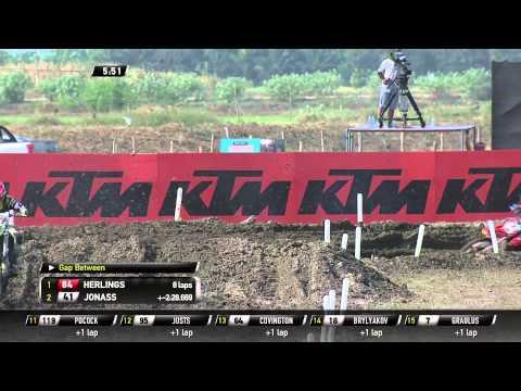 MXGP of Thailand 2015 MX2 FULL Qualifying Race - motocross