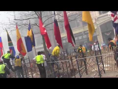 Explosions at the Boston Marathon