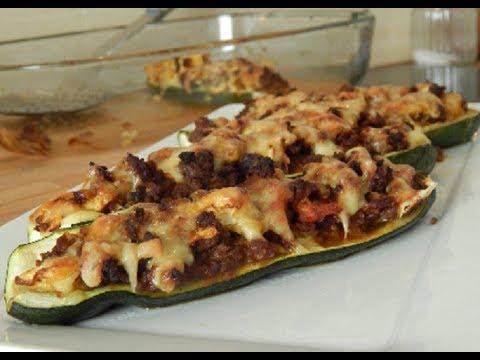 arabisch kochen gef llte zucchini mit hackfleisch youtube. Black Bedroom Furniture Sets. Home Design Ideas