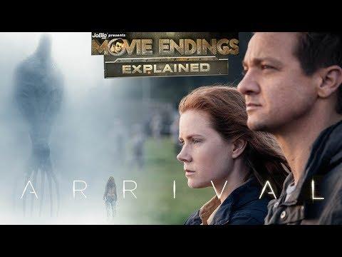 ARRIVAL - Movie Endings Explained  (2016) Amy Adams, Jeremy Renner, Denis Villeneuve Sci-fi Film
