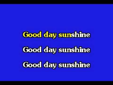 Beatles   Good Day Sunshine