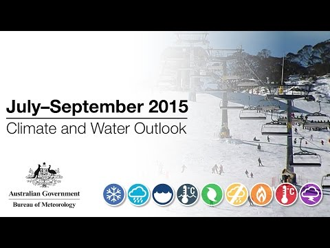 Climate and Water Outlook, July–September 2015