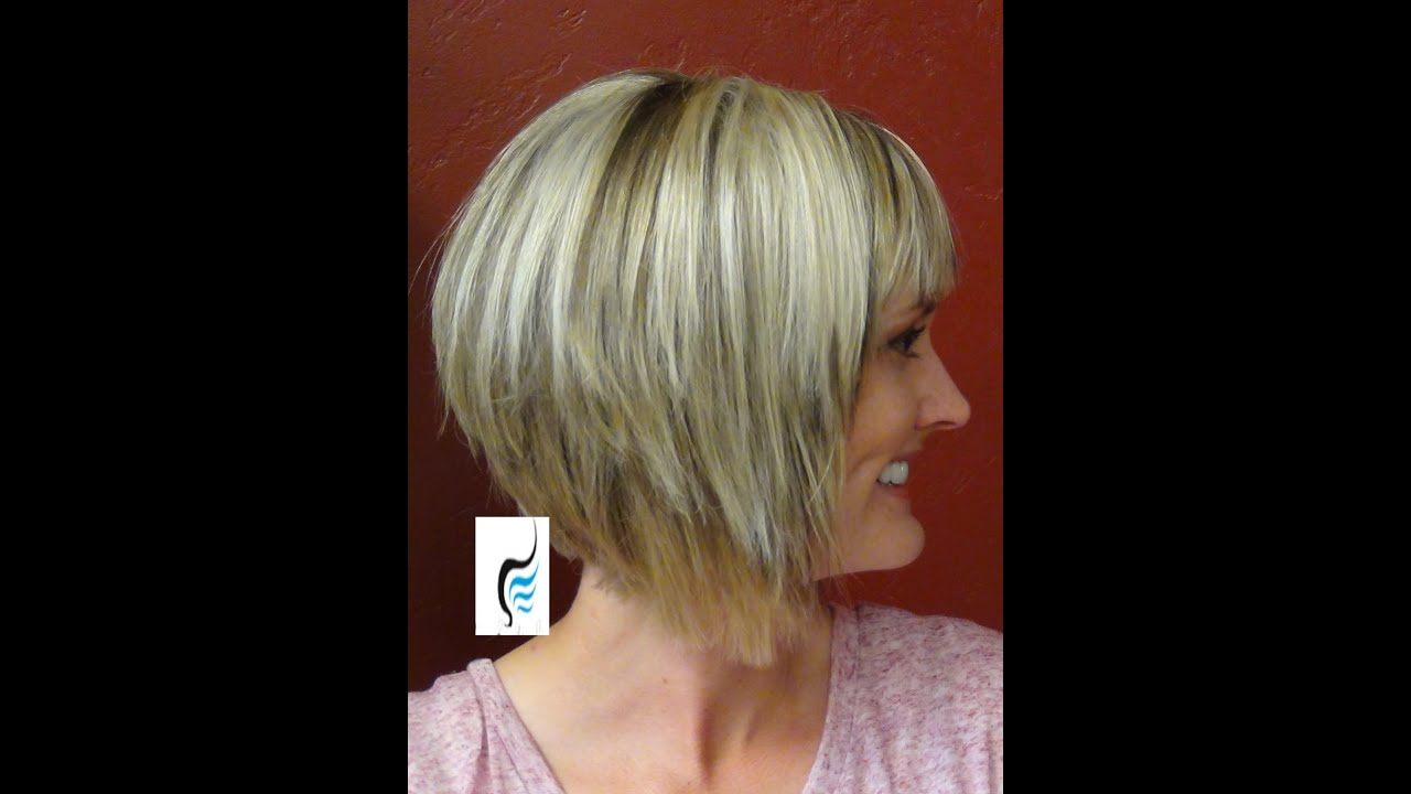 Line Cut With Blunt Bangs Hair Hairstyle - YouTube
