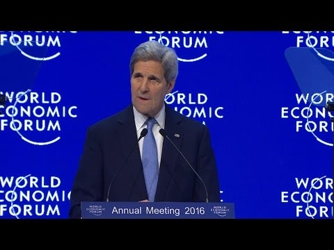 Davos 2016 - Special Address with John F Kerry