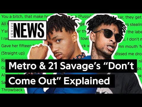 """Metro Boomin & 21 Savage's """"Don't Come Out The House"""" Explained   Song Stories"""