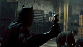 Batman Warehouse fight ( Batman V Superman Dawn Of Justice )