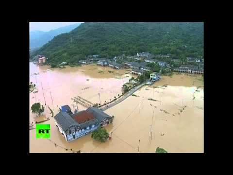Typhoon Soudelor Aftermath on Taiwan