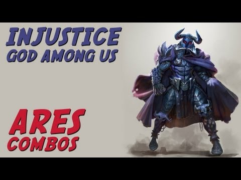 Ares - Combos & Final (Injustice: Gods Among Us)