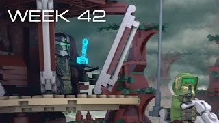 Building Kashyyyk in LEGO - Week 42: I Challenge You!