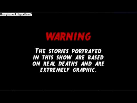 1000 Ways To Die Warning Note video