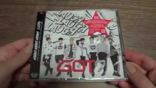 Unboxing GOT7 3rd Japanese Single LAUGH LAUGH LAUGH [Edition B]