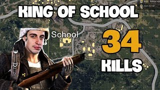 King of school - Shroud 34 kills Solo vs DUO FPP [NA] - PUBG Highlights TOP 1 #1