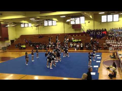 Fontbonne Hall Academy Junior Varsity Cheerleading GCHSAA 2014 CHAMPIONS!!!!!