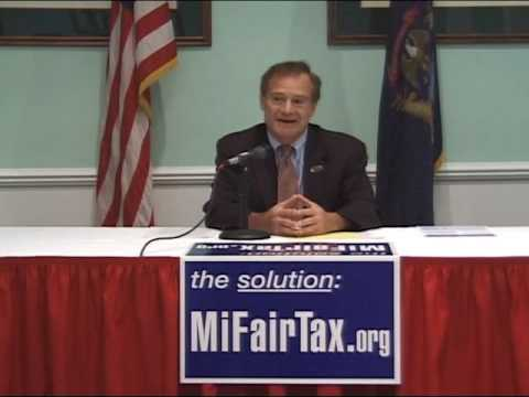 Michigan FairTax Presentation by Roger Buchholtz (Part 1)