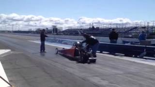 Ashley Browning Jr dragster