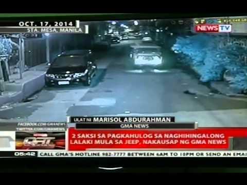 2 saksi sa pagkahulog sa naghihingalong lalaki mula sa jeep, nakausap ng GMA News