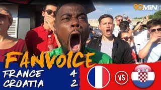 FRANCE WIN THE WORLD CUP! Bud Boat erupts as France beat Croatia 4-2 in WC Final!