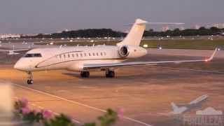 [SBFZ/ FOR] VI Cúpula do BRICS - Pouso RWY13 Global Express D-AFAU IFA - Rent a Jet 14/07/2014