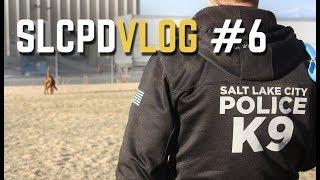 Salt Lake City Police VLOG: K9 Tracks a Suspect