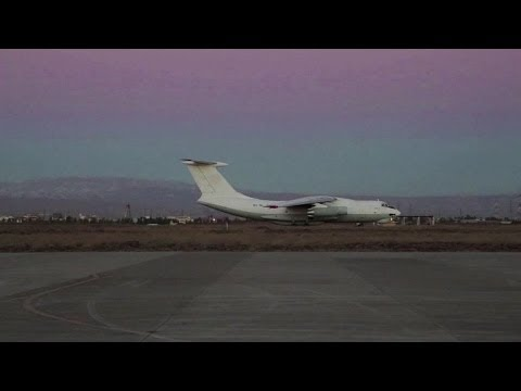 As winter sets in, UN starts aid flights from Iraq to Syria