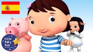 Canciones Infantiles | La Canción de las Escondidas | Dibujos Animados | Little Baby Bum en Español