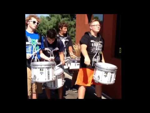 McDonalds drum line prank!